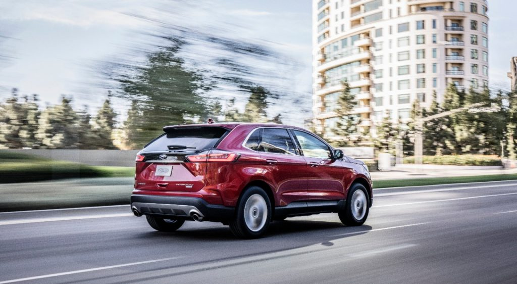 Ford unveils all-new Edge ST before Detroit auto show