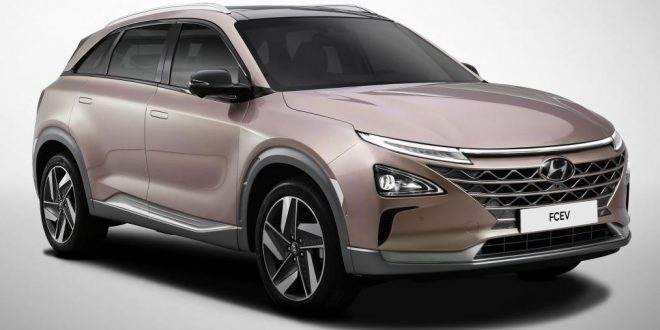 Official Hyundai Fuel Cell SUV Images Released