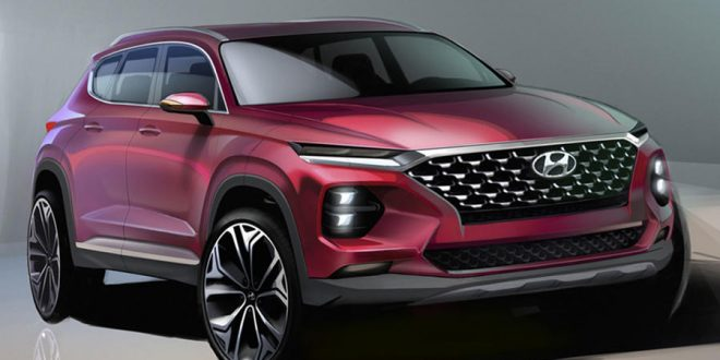 2019 Hyundai Santa Fe Penned Ahead of Reveal