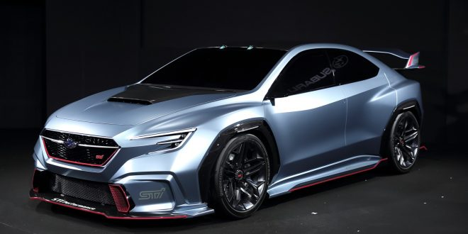 Subaru Viziv Performance STI Concept May Foreshadow Next WRX