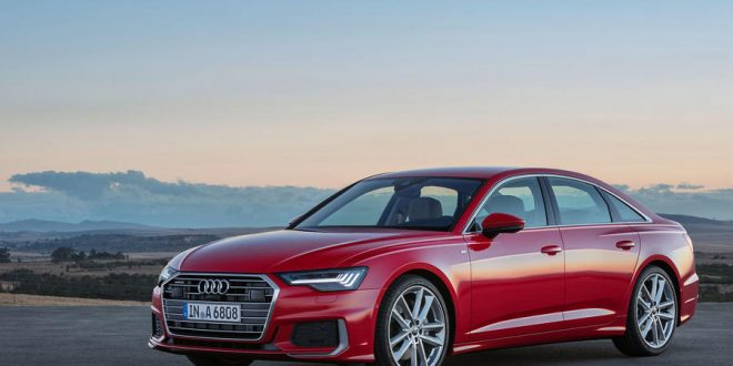 New Audi A6 Uses Mild Hybrid, Infotainment Tech to Compete