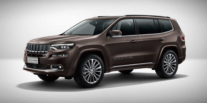 China-Only Jeep Grand Commander Revealed