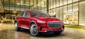 Mercedes-Maybach Ultimate Luxury Concept is a Tall Sedan