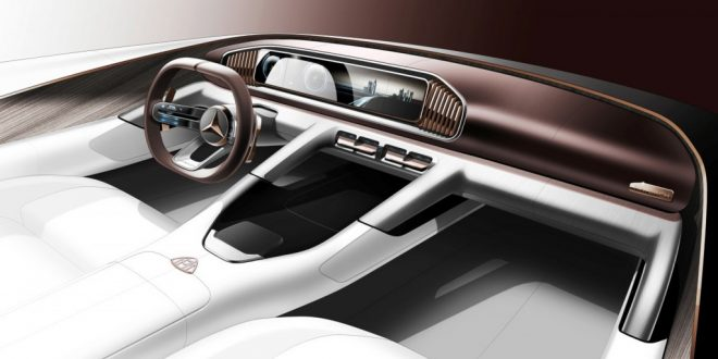 Mercedes-Maybach Teases SUV Concept