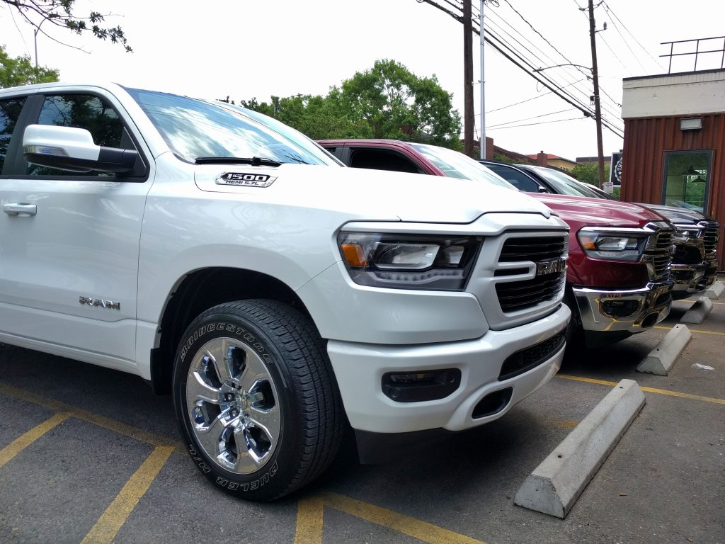 2019 Ram 1500 Lone Star Edition Monochromatic White