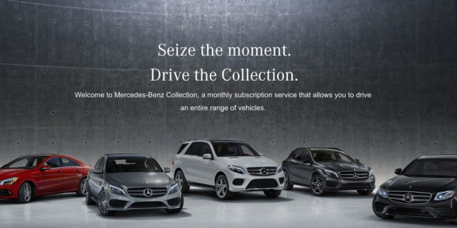 Mercedes-Benz Subscription Services Starts at $1,095 per Month