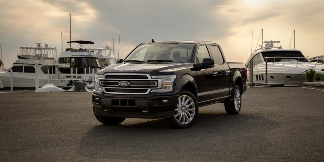 Electric Ford F-150 Prototype Tows One-Million Pounds