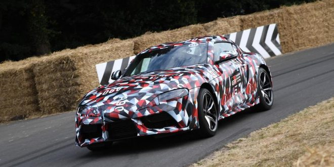 2020 Toyota Supra Confirmed for January Reveal