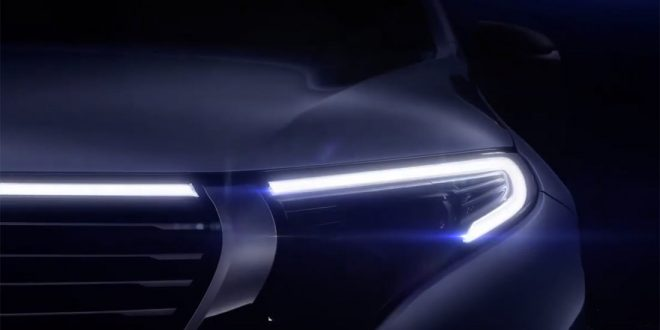 Mercedes-Benz EQ C Teased Ahead of Next Month's Reveal