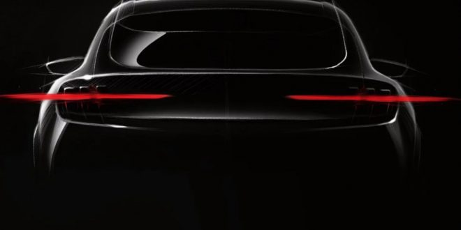 Ford Mustang-Inspired Electric Crossover Debuting This Year