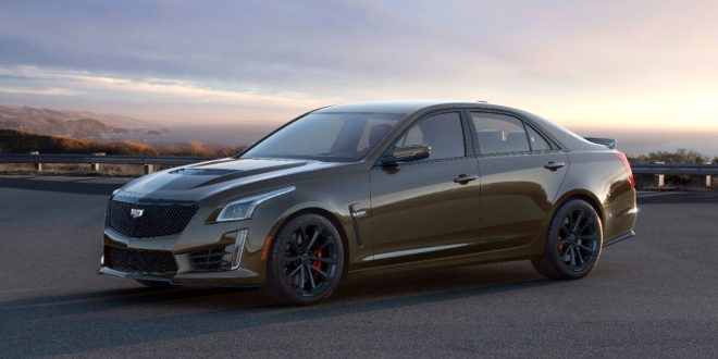 Cadillac Celebrates 15 Years of V-Series With 2019 Pedestal Edition ATS-V Coupe and CTS-V