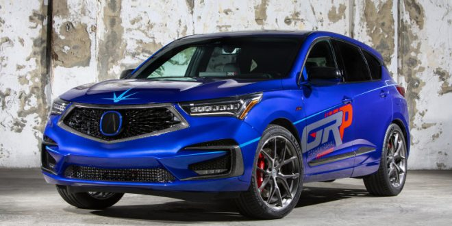 Acura Shows Off Modified RDX A-Spec With 345 Horsepower