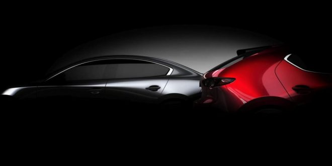 All-New Mazda3 Teased Ahead of L.A. Debut