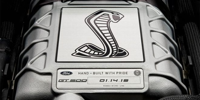 Ford Teases 2020 Mustang Shelby GT500 Supercharger