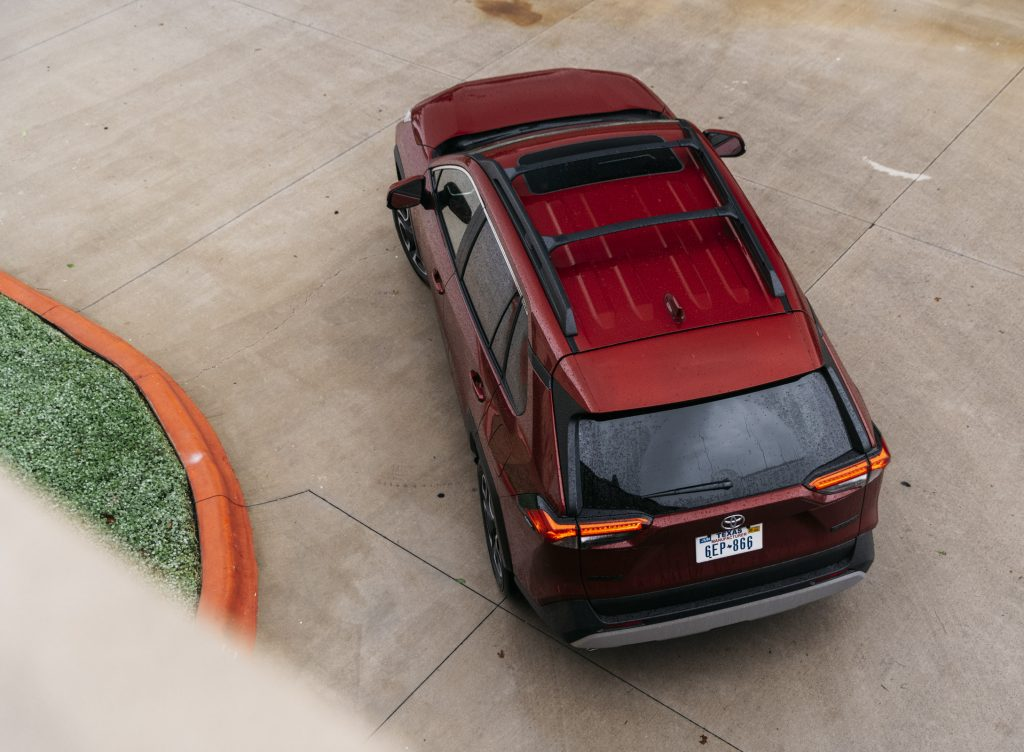 2019 Toyota RAV4 Adventure Roof Top View