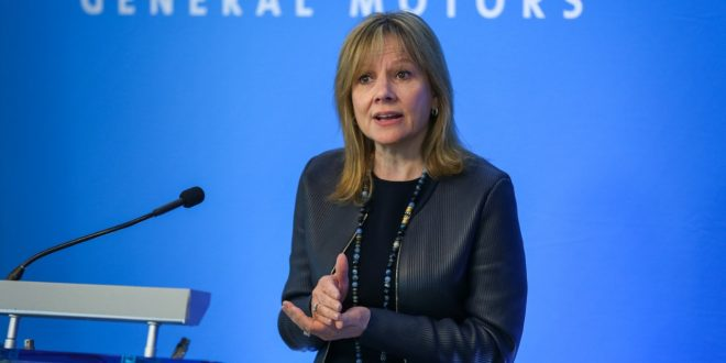 GM CEO Mary Barra Meets With Union Leadership
