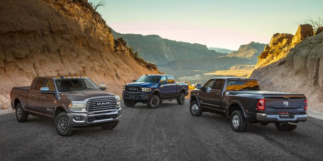 2020 Ram 2500 & 3500 Debuts with 1,000 Lb.-Ft. of Torque