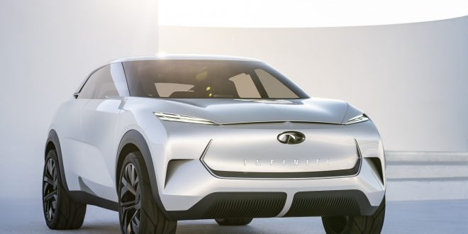 Infiniti QX Inspiration Concept Previews the Brand's Electrified Ambitions