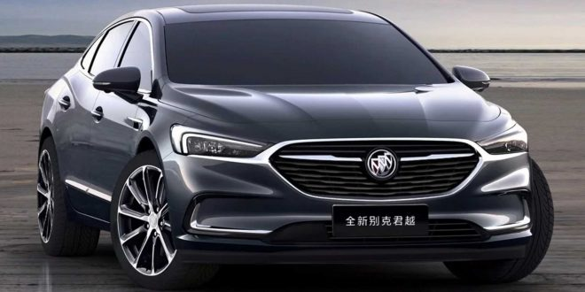 Refreshed 2020 Buick LaCrosse Debuts
