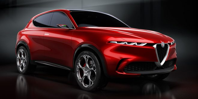 Alfa Romeo Tonale Previews Brand's Next Crossover