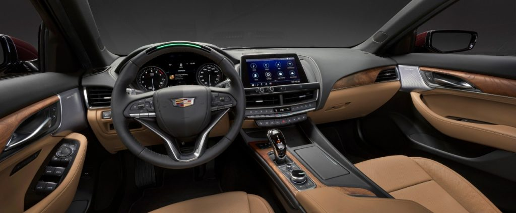 2020 Cadillac Ct5 Revealed As Brand S New Compact Sedan