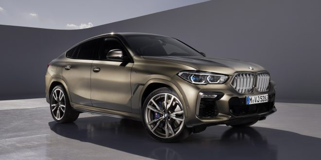 2020 BMW X6 Revealed With Lighted Grille