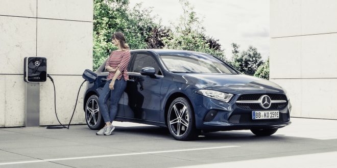 Mercedes Brings Plug-in Hybrid Tech to Compact Models
