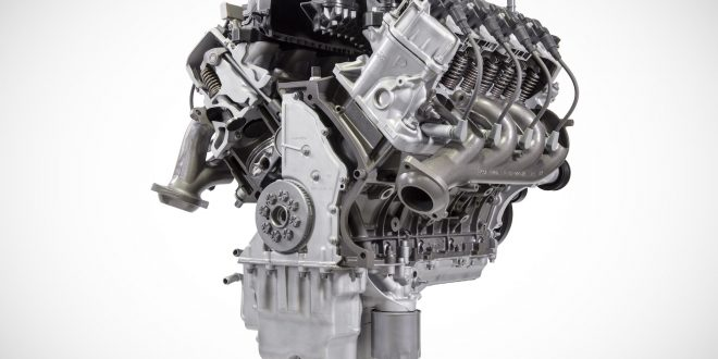 Ford's New 7.3-Liter V-8 Detailed