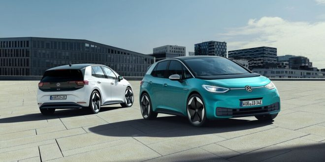 Volkswagen Launches Electric Future With ID 3