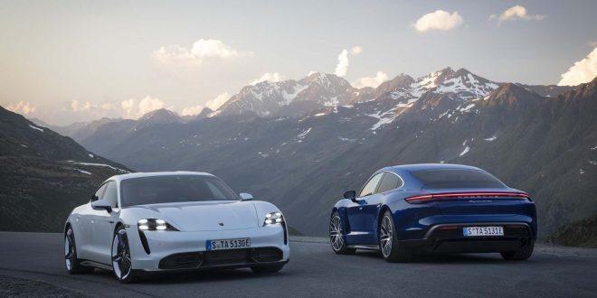 2020 Porsche Taycan Aims to Take on Tesla