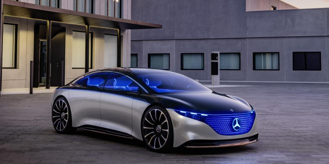 Mercedes-Benz Vision EQS Previews Future Flagship