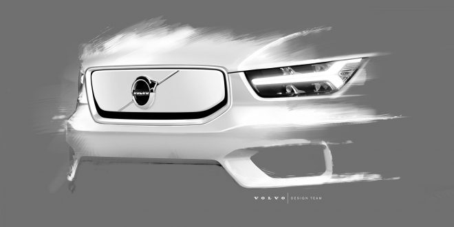 Electric Volvo XC40 Shows Off Design Changes