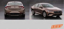 Facelifted Buick Regal Leaked
