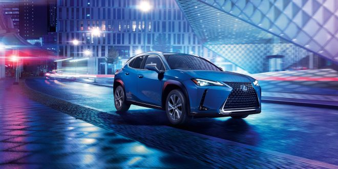 Lexus Reveals First EV In China
