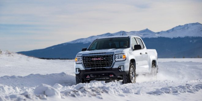 Refreshed 2021 GMC Canyon Brings First-Ever AT4 Model