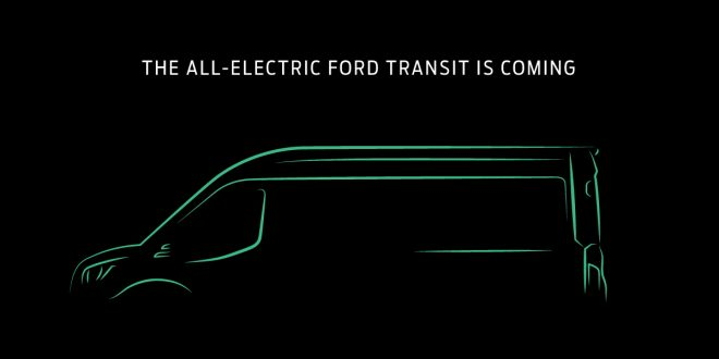 Ford Announces Electric Transit For North America