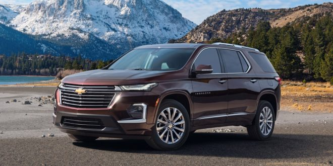 2021 Chevrolet Traverse Goes Under The Knife