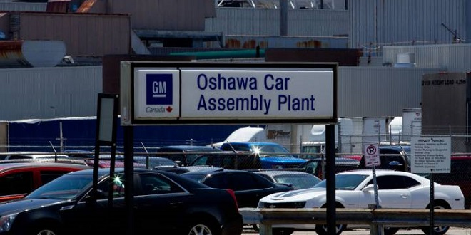 GM Oshawa Employees Walk Out Protesting Plant Closure