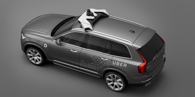 Volvo Selling Thousands of Self-Driving Vehicles to Uber