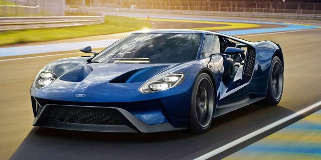 The 2017 Ford GT Likes Gas