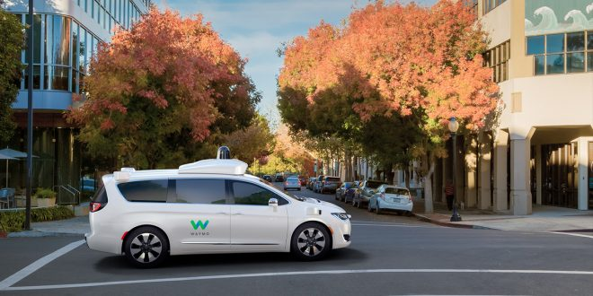 FCA Delivers 500 More Pacifica Hybrids To Waymo
