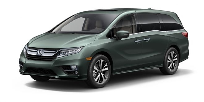 2018 Honda Odyssey Packed With Technology, 10-Speed Auto