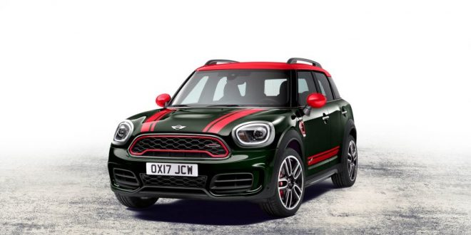 2018 Mini Countryman Gets JCW Treatment