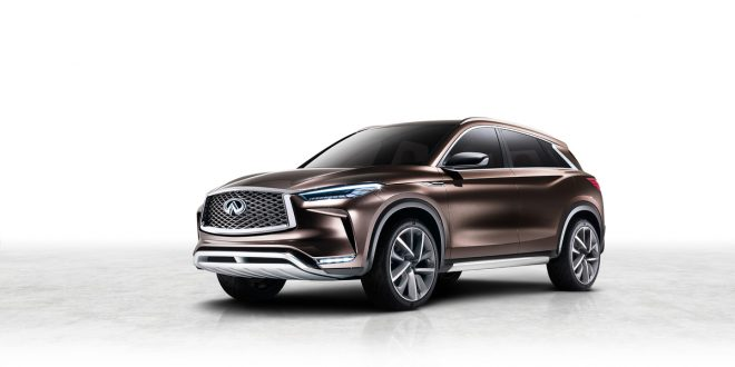 Infiniti Previews Future With QX50 Concept