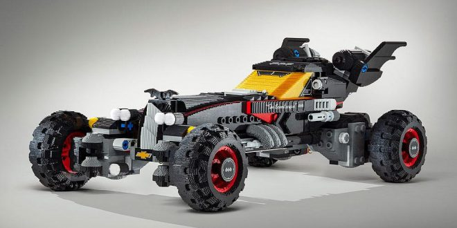 Chevrolet Builds A Lego Batmobile