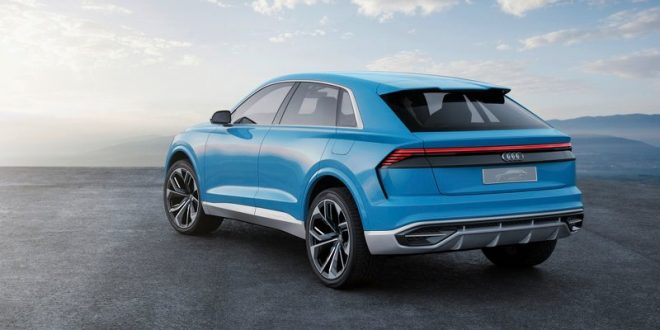 Audi Q8 Concept Previews New 4-Door Coupe SUV