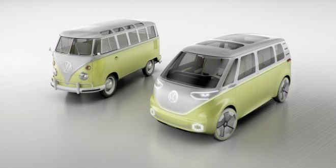 Volkswagen ID Buzz Concept Will Likely Be Produced