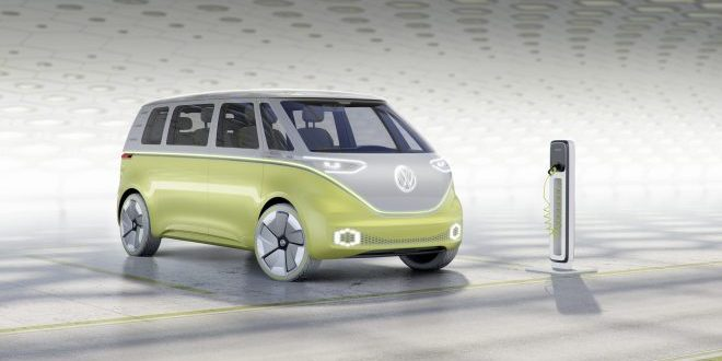 VW Microbus Returns with I.D. Buzz Concept