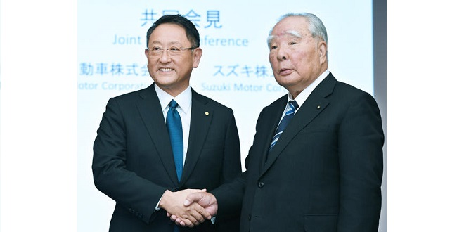 Toyota and Suzuki Set to Announce Comprehensive Partnership