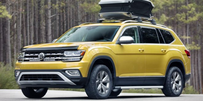 VW Displays Atlas 'Weekend Edition' Concept In Chicago